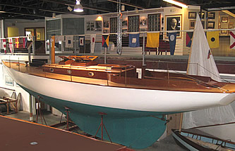 Torch, a 'Fishers Island 31' sloop built by the Herreshoff Co.