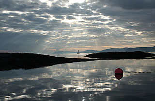 mooring in Scottish waters