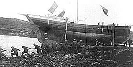 the launching of Saoirse
