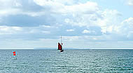Betty sailing to Bornholm
