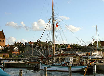 Betty in Stubbekøbing, summer voyage 2007